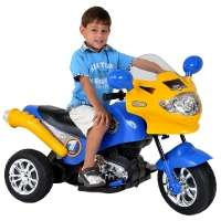 Moto Elétrica Speed Chopper Mitro Azul