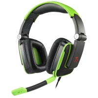 Headset Thermaltake Para Xbox 360 Playsation 3 Pc Preto e Verde
