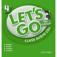 Lets Go 4 - Class Audio CD - Fourth Edition