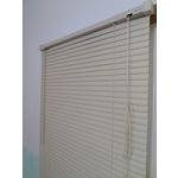 Persiana Horizontal PVC 25mm Bege 80 (L) X 163 (A) cm