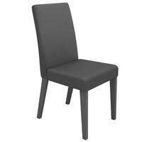 Kit de Cadeiras Madesa Topazio Cinza 2 Peças