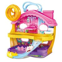 Playset Mansão Hamster com Figura Hamsters In A House Candide