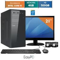 Computador Monitor LED 21'' Easypc 5971 Core I5 3.2GHz 4GB 500GB Windows 10