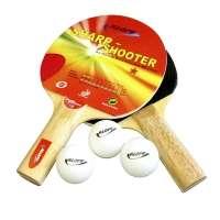 Kit Para Mesa de Ping Pong Klopf 5052 Colorido 5 Peças