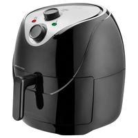 Fritadeira Elétrica Air Fryer Multilaser CE125 6,5 Litros Preta e Prata 110V