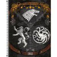 Caderno Espiral Game Of Thrones 96 Folhas - Tilibra