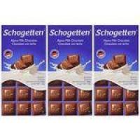 Chocolate Schogetten Alpine - Ao leite - 3 Unidades