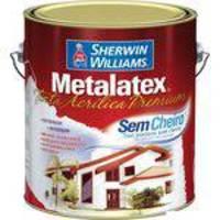 Tinta Látex Metalatex Premium Acrílica Fosco 3,6l Mel Sherwin Williams