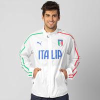 74a35c0ad8 Jaqueta Puma Figc Seleção Itália Walk Masculina Branca