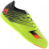 Chuteira de Futsal adidas Messi 15.3 Infantil Verde Claro