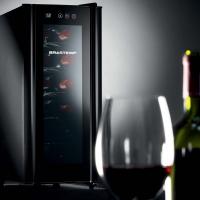 Adega Climatizada Brastemp Wine Cooler BZC12BE 12 Garrafas All Black
