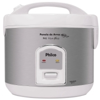 Panela Elétrica de Arroz Philco PH5 Visor Glass Branca 220V