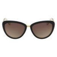 Óculos De Sol Calvin Klein Ck8538s 073/56 Preto com Creme