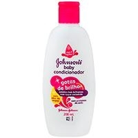 Condicionador Gotas De Brilho Johnson's Baby 200Ml