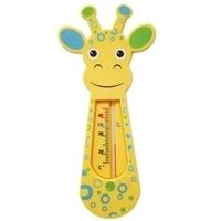 Termômetro Para Banho Buba Toys Girafinha 5240 Azul e Amarela
