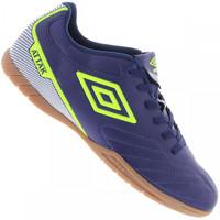 Chuteira de Futsal Umbro Attak II Azul Escuro