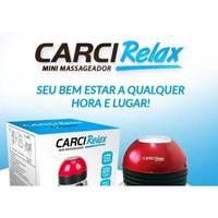 Mini Massageador Elétrico Portátil Carci Relax