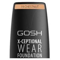 Base Facial Gosh Copenhagen X-ceptional Wear Foundation Chestnut