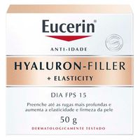 Creme Anti-Rugas Eucerin - Hyalurin Filler Elasticity Dia FPS 15 50g