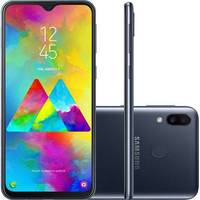 Smartphone Samsung Galaxy M20 Desbloqueado Dual Chip 64GB 6.3 Android 8.1 Preto