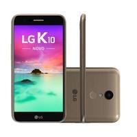 Smartphone LG K10 Novo M250DS Desbloqueado GSM 32GB Android 7.0 Dourado