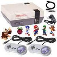 Video Game Super NesPi Recalbox Raspberry Pi3 9000 Games com 2 Controles HDMI