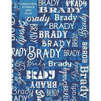 Brady Composition Notebook Wide Ruled