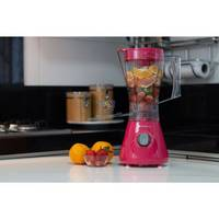Liquidificador Cadence Trapeze Colors LIQ355 Evolution 800W 1,5 Litros Rosa Doce