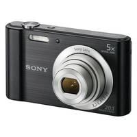 Câmera Digital Sony Cyber-Shot DSC-W800 20.1 MP Preta