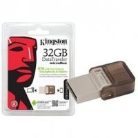Pen Drive Kingston Smartphone Dtduo 32Gb Dt Micro Duo 64Gb Usb E Micro Usb 2.0 Otg