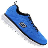 1b925d65067 Tênis Skechers Synergy 51188 Masculino Azul e Preto
