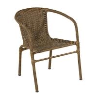 Cadeira Art Ferro Tamiris Marrom