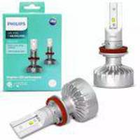 Lampada Super Led Philips 6000k Branca H8 H11 H16 X-treme