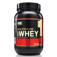 Suplemento Optimum Nutrition Gold Standard 100% Whey Protein Isolates Banana 909g