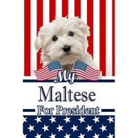 My Maltese for President: 2020 Election Beer Tasting Log Journal Notebook 120 Pages 6x9