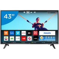 Smart TV LED 43 Philips 43PFG5813/78 Conversor Digital