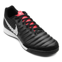 a61e4f63f1 Chuteira Futsal Nike Tiempo Legend 7 Academy Ic Masculina Preto E Cinza