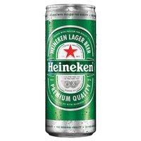 Cerveja Heineken Premium Pilsen Lager 250ml Lata