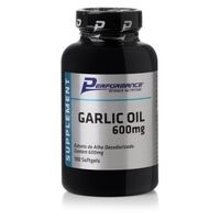 Suplemento Performance Garlic Oil 100 Cápsulas 600mg