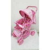 Carrinho De Bebê Reversível Mosquiteiro Bamboo Pink