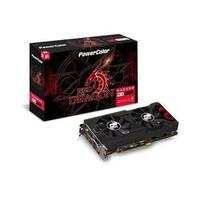 Placa de Video Power Color Radeon RX 570 RED Dragon 4GB DDR5 256 BITS - AXRX 570 4GBD5-3DHD/OC