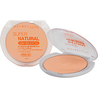 Pó Compacto Maybelline Super Natural UV Block FPS 30 01 Claro Natural