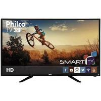 Smart TV LED 39 Philco PH39N86DSGW Conversor Digital