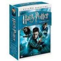 DVD Box Harry Potter Anos 1 - 5 - 6 Discos