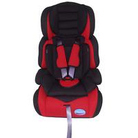 Cadeira Para Automóvel Prime Baby Security 1025 Sem Base Preta e Vermelha