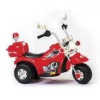 Mini Moto Elétrica Chopper Vermelha 1351 - Unitoys