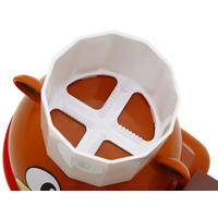 Boneco Urso Kids Chef Multi Kids com aquecedor de chocolate Foundue Maker