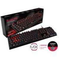 Teclado gamer hyperx hx-kb1rd1-na/a4 mecanico alloy fps cherry mx red