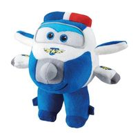 Avião De Pelúcia Super Wings Paul 17cm Fun