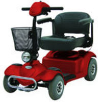 Scooter Freedom Mirage Rx Prata e Vinho